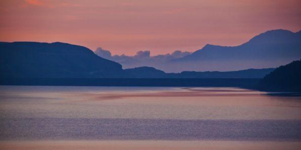 189.lac du mont cenis petit matin60x120