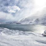 191.lac du mont-cenis dans le blizzard60x120