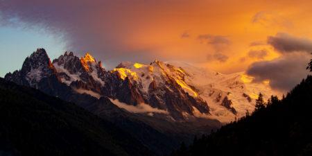 mont blanc sommet alpes françaises savoie mont blanc tourisme haute savoie