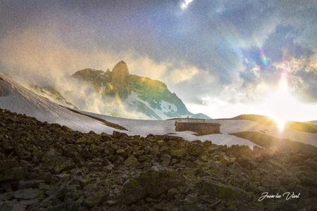 refuge du thabor valfrejus col de vallée etroite haute maurienne vanoise savoie mont blanc